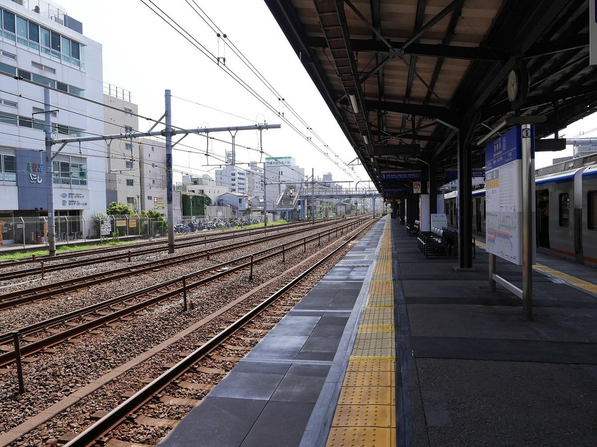 相鉄線 西横浜駅ホーム