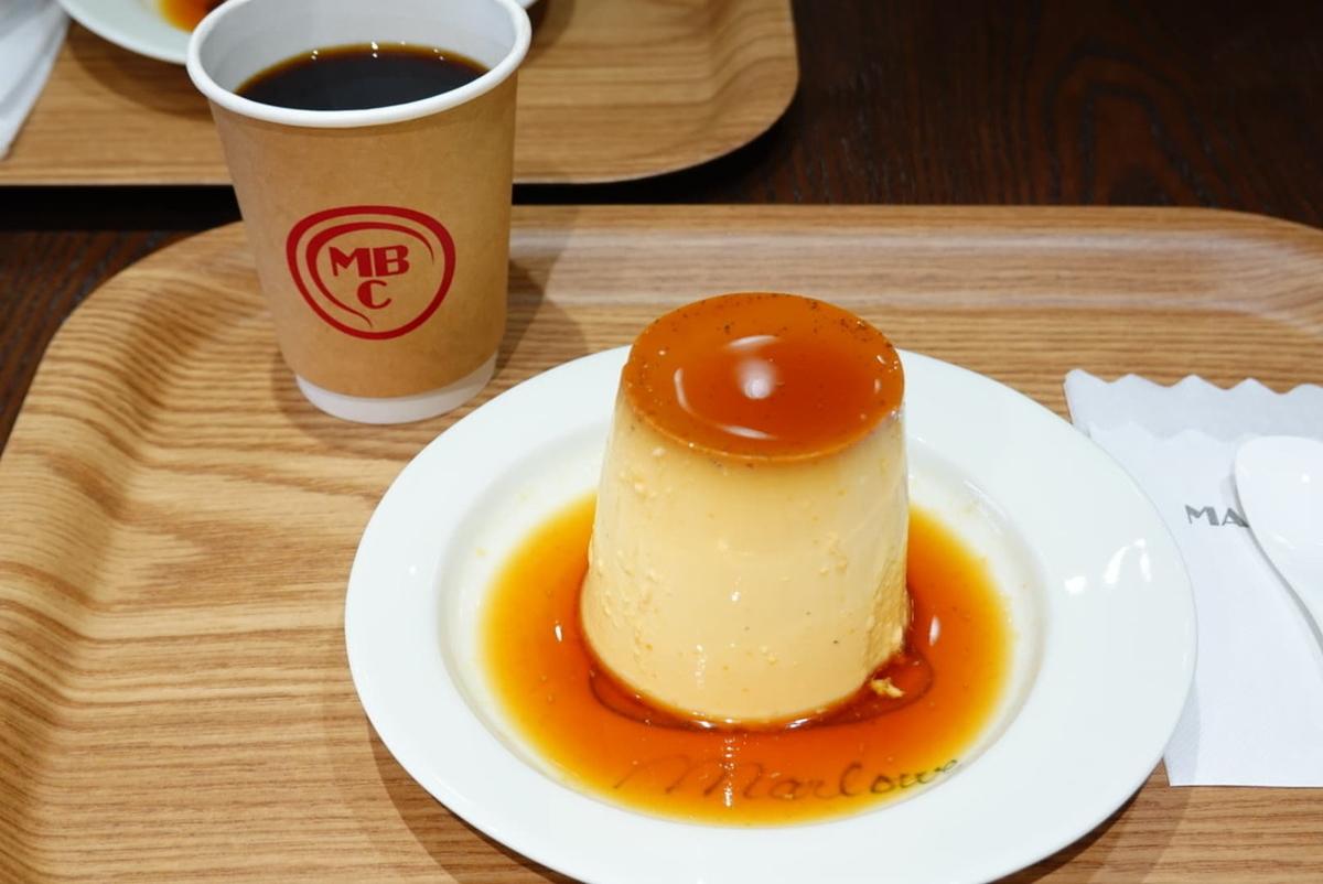 マーロウブラザーズコーヒー 有精卵のフレッシュクリームプリン ブラザーブレンドコーヒー