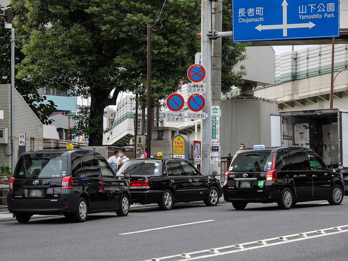 街中でよく見かける背の高い「トヨタ JPN TAXI」