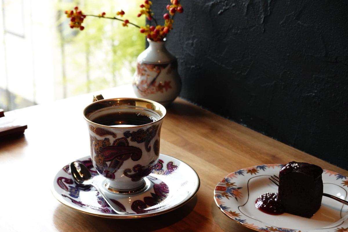 トラジャ カロシ チョコレートケーキ