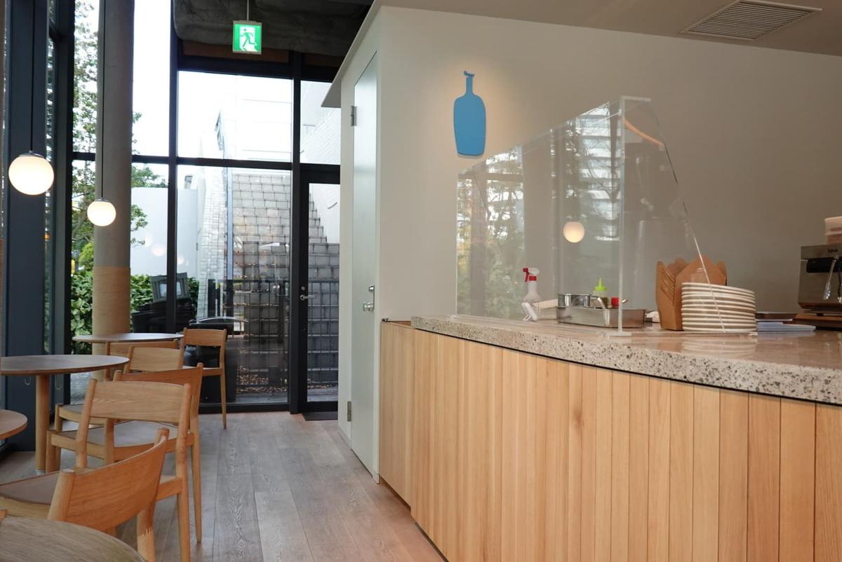 ブルーボトルコーヒー みなとみらいカフェ 店内