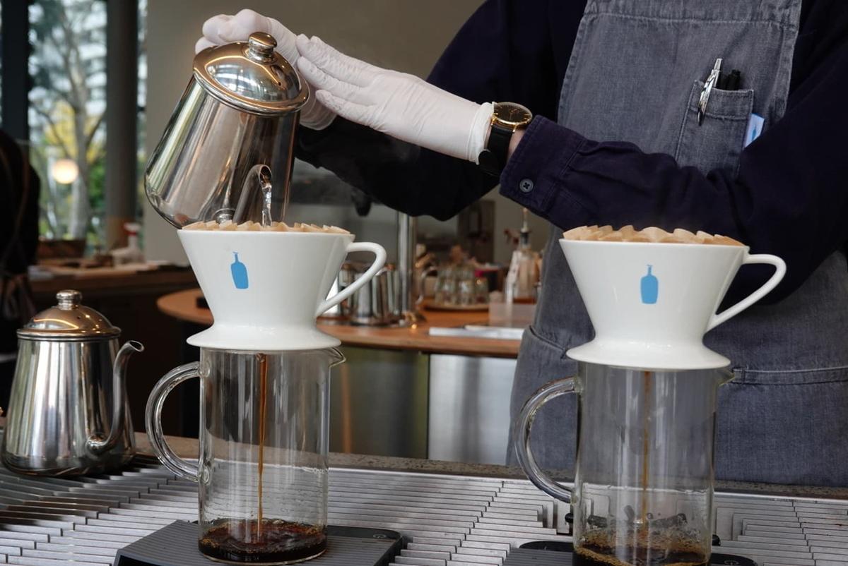 ブルーボトルコーヒー みなとみらいカフェ ドリップコーヒー
