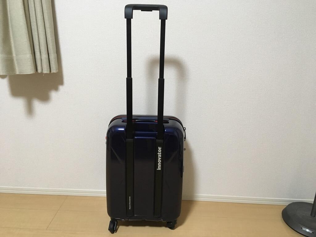 イノベーターのスーツケースの持ち手