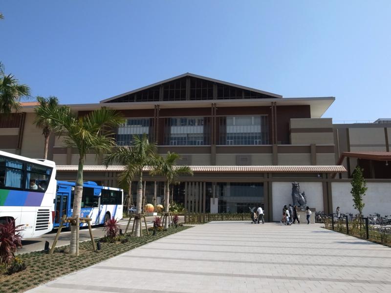 イオンモール沖縄外観 アライバルゲート前
