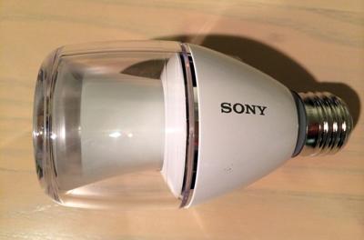 ソニー LED電球スピーカー 2