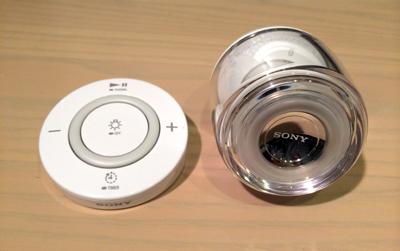 ソニー LED電球スピーカー とリモコン