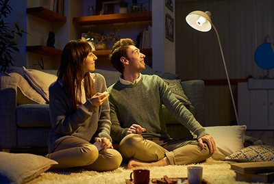 ソニー LED電球スピーカー 使用イメージ2