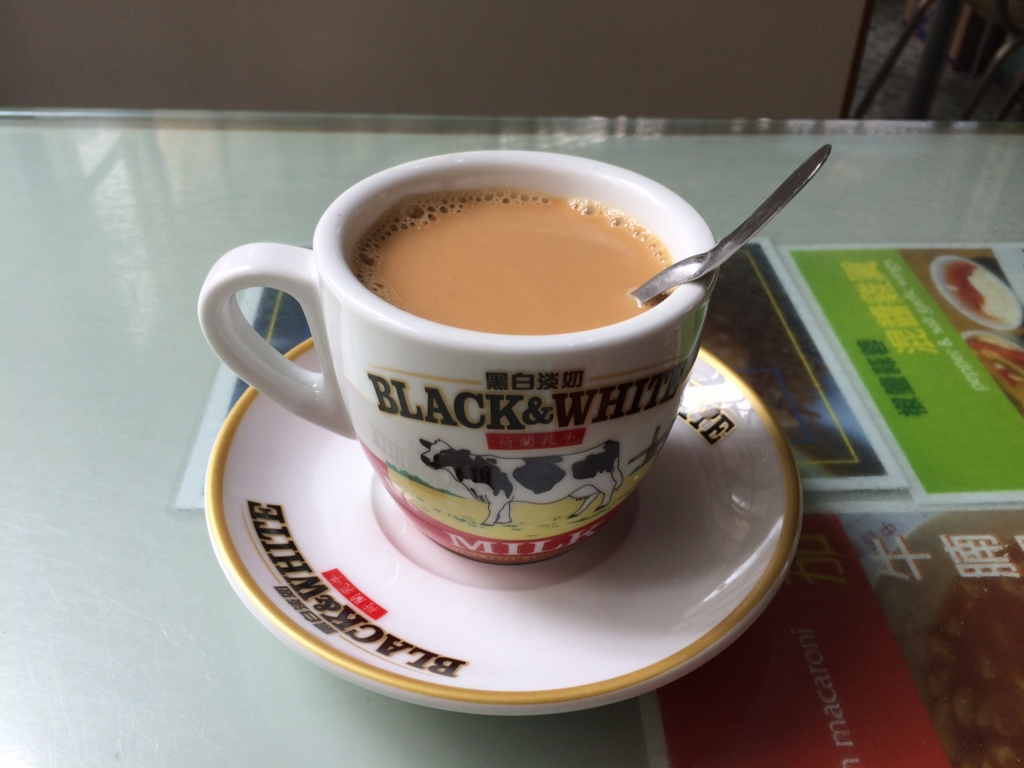 美都餐室(MIDO CAFE)鴛鴦茶