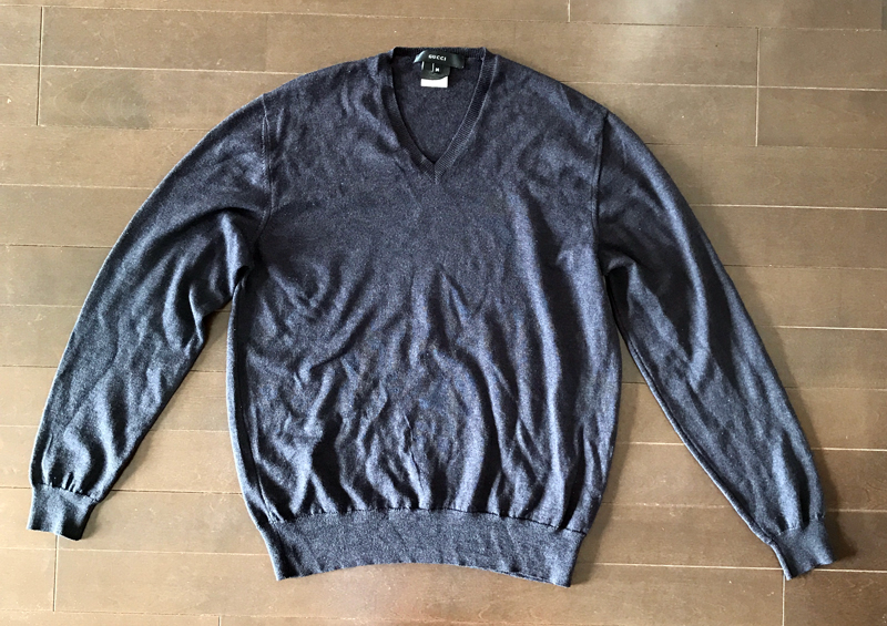 グッチのカシミアセーター