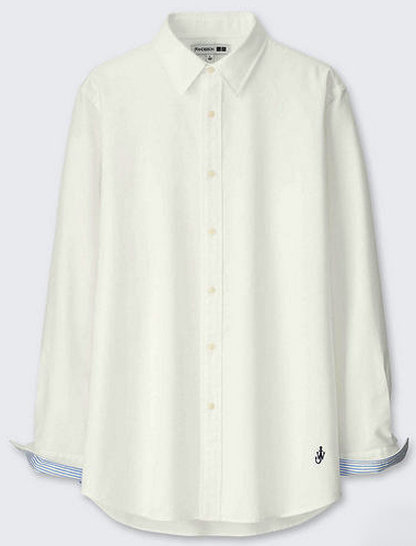JW ANDERSONのオックスフォード白シャツ