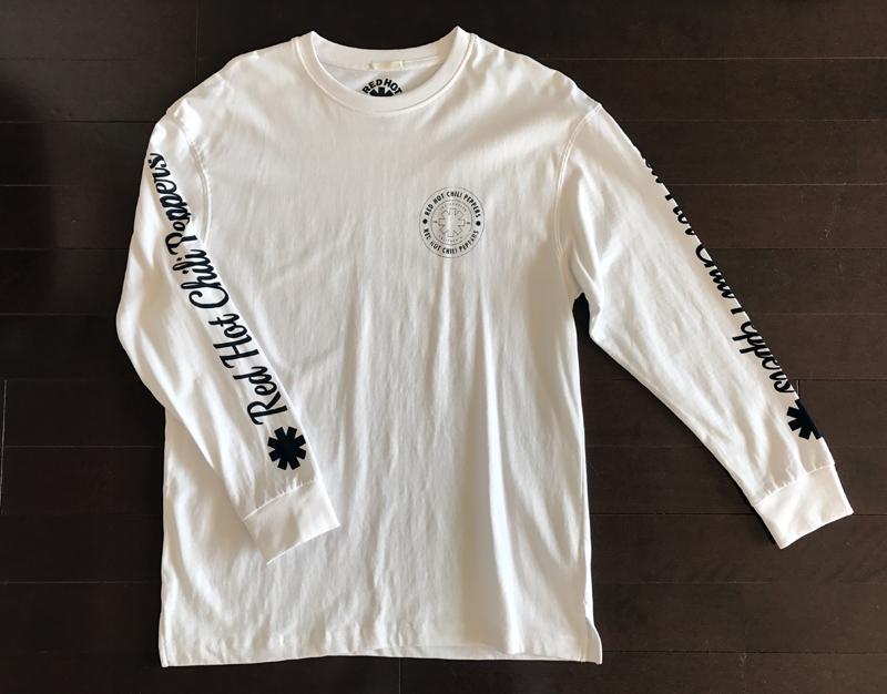 GUのレッチリ(レッドホットチリペッパーズ)の長袖T