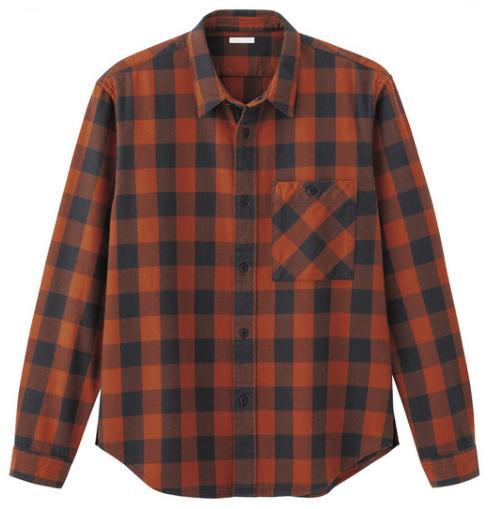 ヘビーウェイトのブロックチェックのネルシャツ