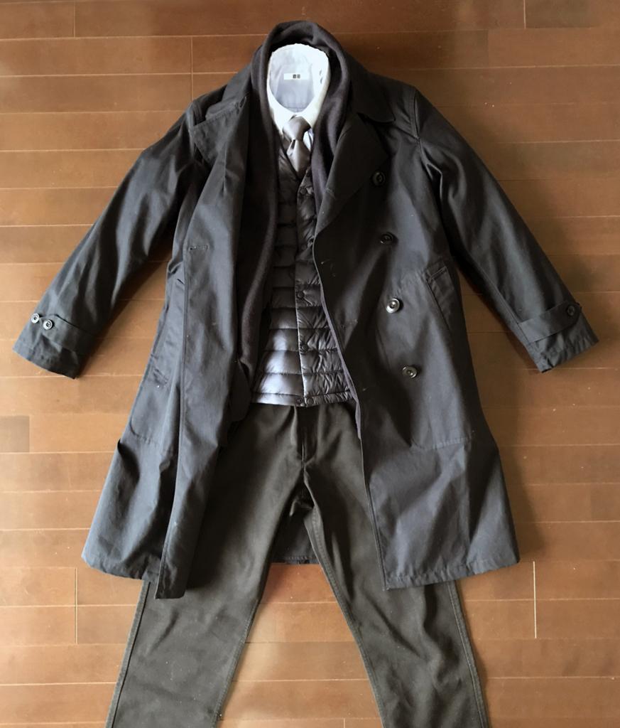 ジャケット+コートのインナーに