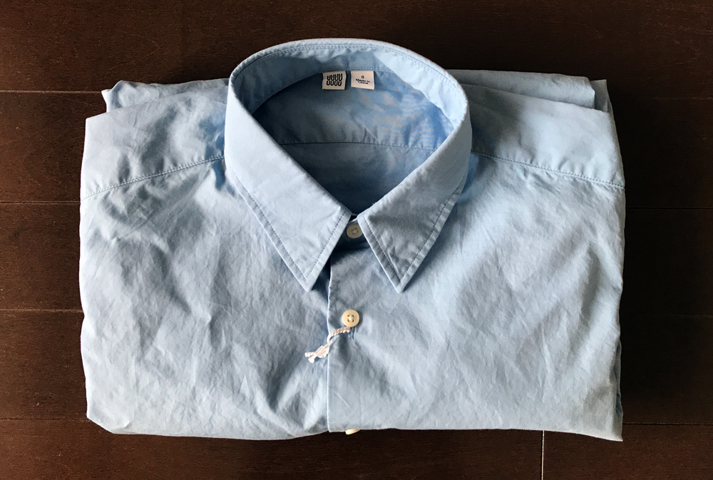 ユニクロユーのシャツ