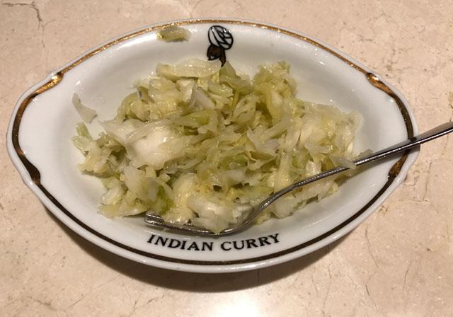 インディアンカレー ピクルス