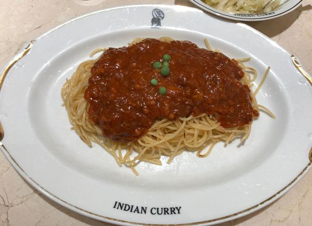 インディアンカレー ミートスパ
