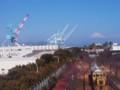 津波避難所からの風景