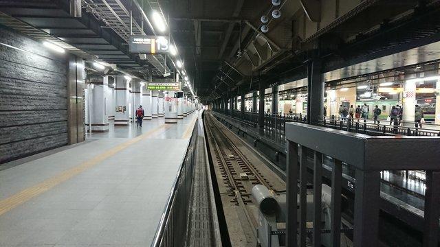 上野駅13番ホーム
