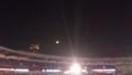 満月とマリンステージ