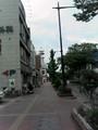 和歌山市街、朝のメインストリート:nobody?