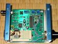 秋月のMAX038ジェネレータキットを使った、単能HFオシレータ。