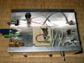 高周波ユニット実験用箱。実はオーディオてすと箱の再利用。