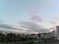 札幌の街並と豊平川・藻岩山(2)