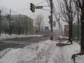 札幌、吹雪いています