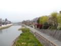 四条大橋からみる鴨川
