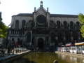 サント・カトリーヌ教会。味があります。