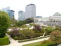 ブリュッセルの植物園。