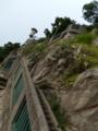 Schloßbergを登る。