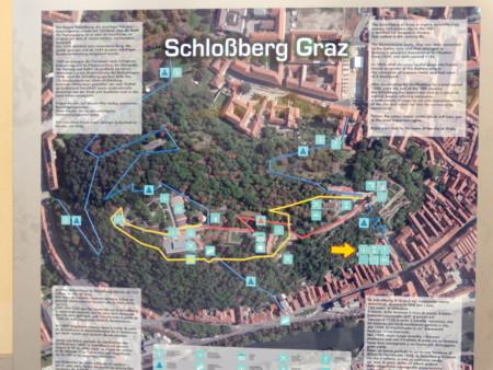 Schloßberg全体図