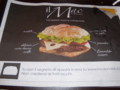 ilMacって、こんなハンバーガー。