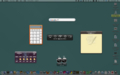 Mac OS X 標準機能でDashboardをキャプった場合