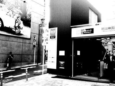 明治神宮前駅(副都心線)