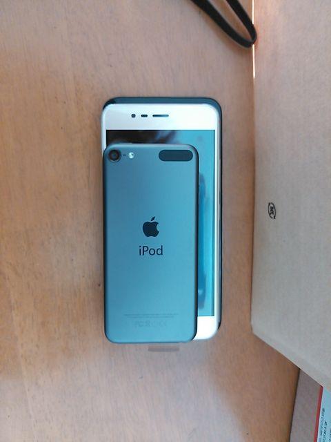 asus ZenFone 3 Max ZC520TL大きさ比較iPod touch6