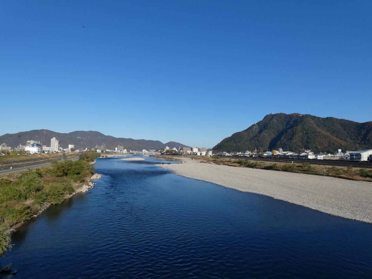 長良川 長良橋からの眺め
