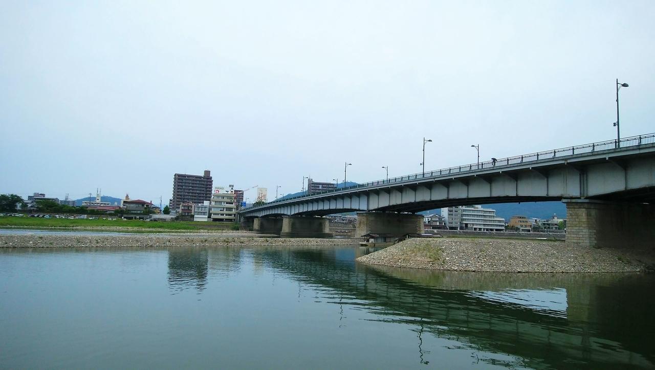 長良橋と長良川
