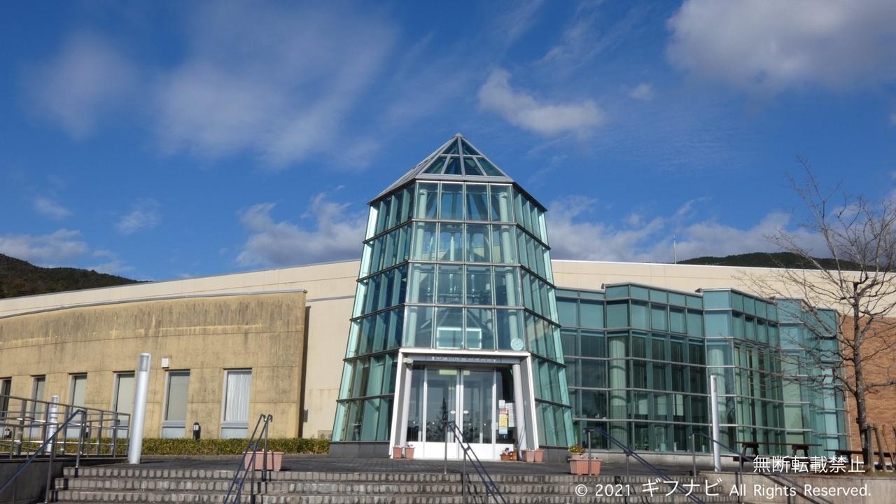 中津川市鉱物博物館 外観