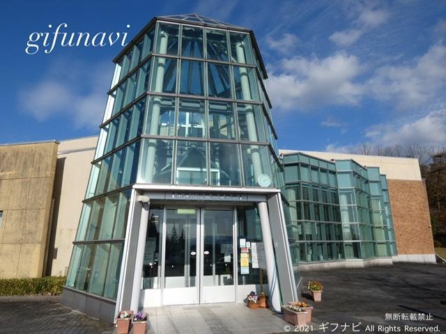 中津川市鉱物博物館 エントランス