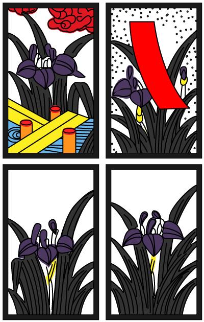 5月の花札
