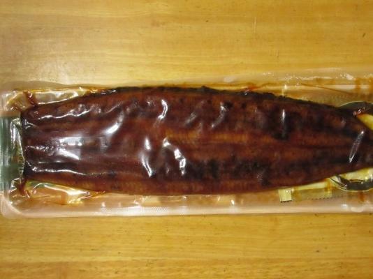 スーパーのうなぎの蒲焼の写真