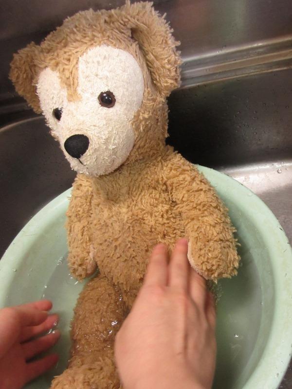 ぬいぐるみの洗い方写真2