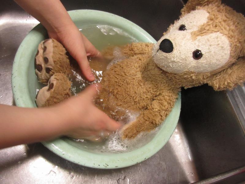 ぬいぐるみの洗い方写真3-2