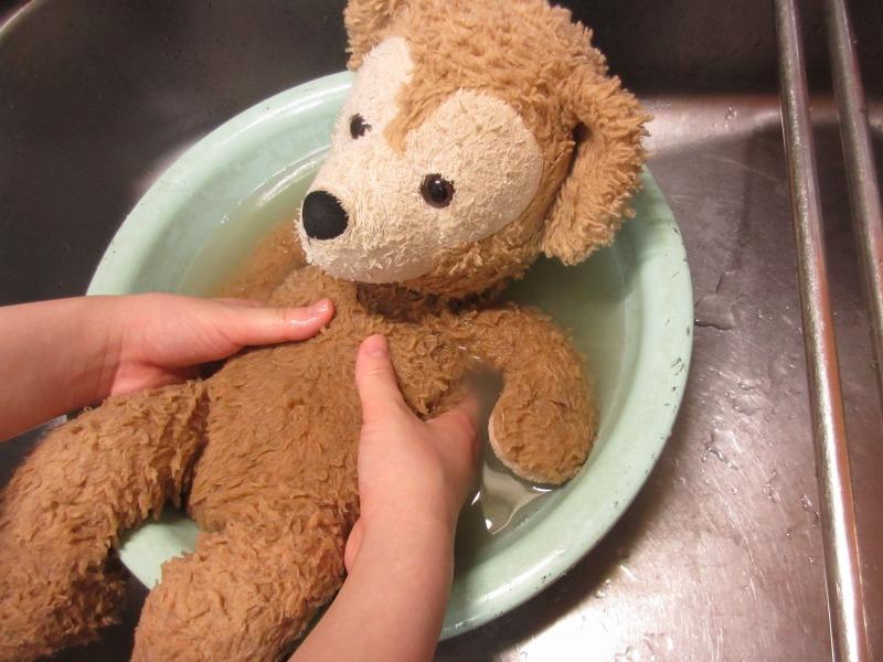 ぬいぐるみの洗い方写真3-1