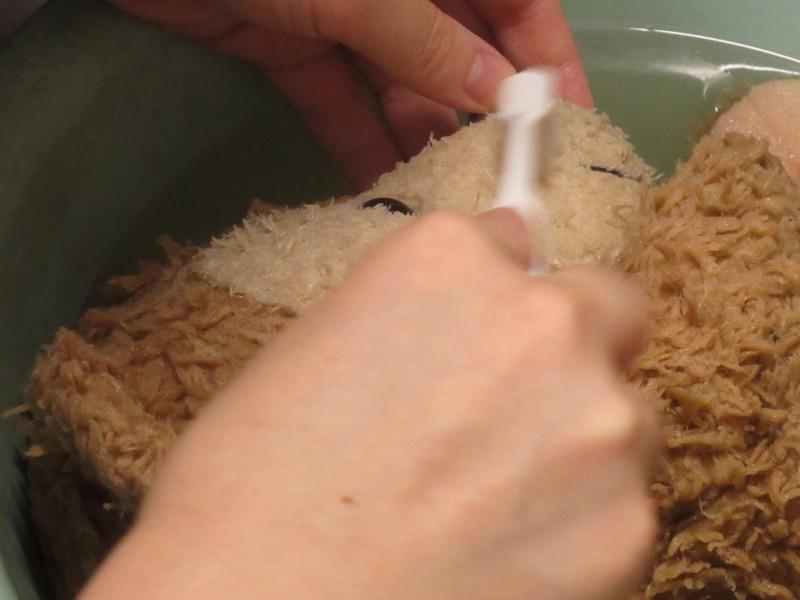 ぬいぐるみの洗い方写真4