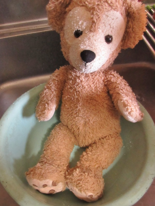 ぬいぐるみの洗い方写真1