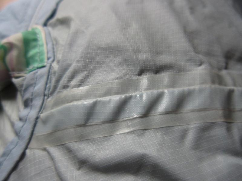 縫い代のテープ