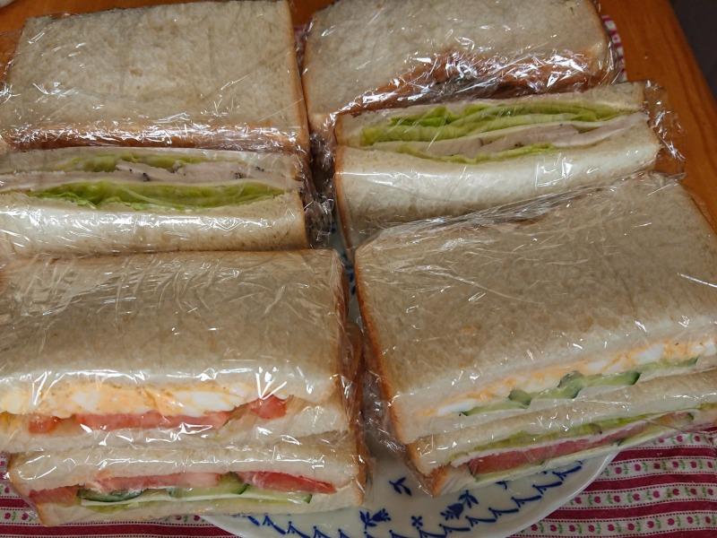 サンドイッチ完成品5種